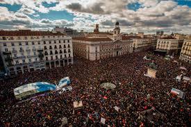 PODEMOS MANI MADRID