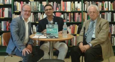 Presentación en Bilbao, con Iñigo Landa Larrazabal y Mitxel Unzueta