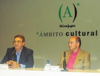 Presentación en Pamplona con Juan Cruz Alli Aranguren